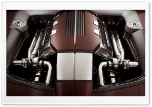 Car Engine HD Wide Wallpaper for Widescreen