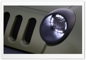 Car Headlight HD Wide Wallpaper for Widescreen
