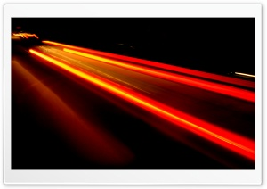 Car Light Trails HD Wide Wallpaper for 4K UHD Widescreen desktop & smartphone