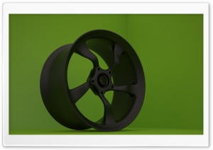 Car Rim 02 HD Wide Wallpaper for Widescreen