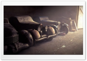Car Shed HD Wide Wallpaper for Widescreen