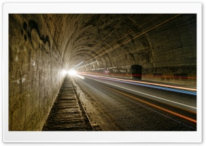 Car Tunnel HD Wide Wallpaper for Widescreen