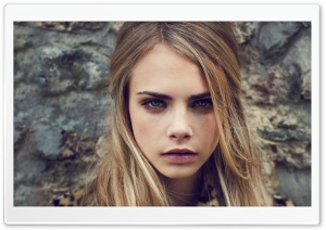Cara Delevingne HD Wide Wallpaper for Widescreen