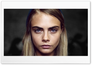 Cara Delevingne Ultra HD Wallpaper for 4K UHD Widescreen desktop, tablet & smartphone