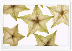 Carambola Fruit HD Wide Wallpaper for Widescreen
