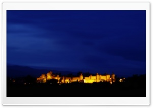 Carcassonne, France HD Wide Wallpaper for Widescreen