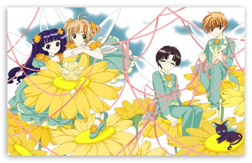 Cardcaptor Sakura HD wallpaper for Wide 16:10 5:3 Widescreen WHXGA WQXGA WUXGA WXGA WGA ; Standard 3:2 Fullscreen DVGA HVGA HQVGA devices ( Apple PowerBook G4 iPhone 4 3G 3GS iPod Touch ) ; iPad 1/2/Mini ; Mobile 4:3 5:3 3:2 - UXGA XGA SVGA WGA DVGA HVGA HQVGA devices ( Apple PowerBook G4 iPhone 4 3G 3GS iPod Touch ) ;