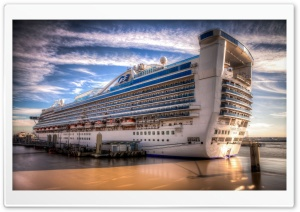 Caribbean Princess Liner HD Wide Wallpaper for Widescreen