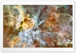 Carina Nebula HD Wide Wallpaper for Widescreen
