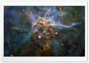 Carina Nebula HD Wide Wallpaper for 4K UHD Widescreen desktop & smartphone