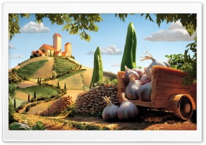 Carl Warner Food Landscape HD Wide Wallpaper for Widescreen