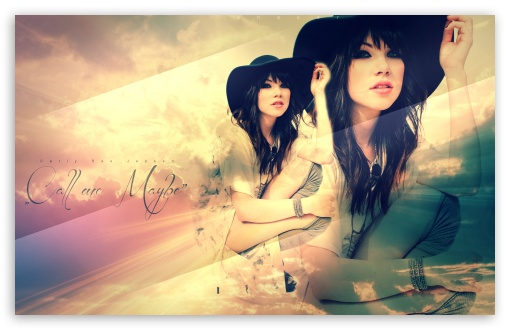 Carly Rae Jepsen - Call Me Maybe HD wallpaper for Wide 16:10 5:3 Widescreen WHXGA WQXGA WUXGA WXGA WGA ; HD 16:9 High Definition WQHD QWXGA 1080p 900p 720p QHD nHD ; Standard 4:3 3:2 Fullscreen UXGA XGA SVGA DVGA HVGA HQVGA devices ( Apple PowerBook G4 iPhone 4 3G 3GS iPod Touch ) ; iPad 1/2/Mini ; Mobile 4:3 5:3 3:2 16:9 - UXGA XGA SVGA WGA DVGA HVGA HQVGA devices ( Apple PowerBook G4 iPhone 4 3G 3GS iPod Touch ) WQHD QWXGA 1080p 900p 720p QHD nHD ;