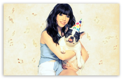 Carly Rae Jepsen - Dog HD wallpaper for Wide 16:10 5:3 Widescreen WHXGA WQXGA WUXGA WXGA WGA ; HD 16:9 High Definition WQHD QWXGA 1080p 900p 720p QHD nHD ; Standard 4:3 5:4 3:2 Fullscreen UXGA XGA SVGA QSXGA SXGA DVGA HVGA HQVGA devices ( Apple PowerBook G4 iPhone 4 3G 3GS iPod Touch ) ; Tablet 1:1 ; iPad 1/2/Mini ; Mobile 4:3 5:3 3:2 16:9 5:4 - UXGA XGA SVGA WGA DVGA HVGA HQVGA devices ( Apple PowerBook G4 iPhone 4 3G 3GS iPod Touch ) WQHD QWXGA 1080p 900p 720p QHD nHD QSXGA SXGA ;