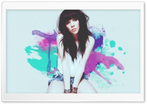 Carly Rae Jepsen - Tonight Im Getting Over You HD Wide Wallpaper for Widescreen