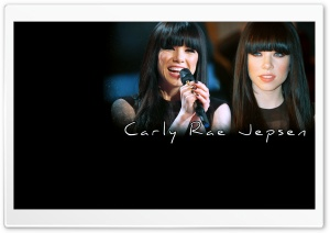 Carly Rae Jepsen Singing HD Wide Wallpaper for Widescreen