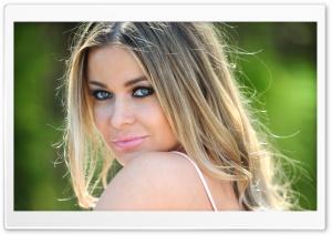 Carmen Electra Portrait HD Wide Wallpaper for Widescreen