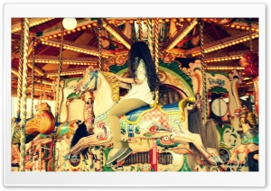 Carousel HD Wide Wallpaper for Widescreen