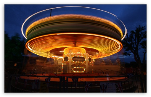 Carousel At Night HD wallpaper for Wide 16:10 5:3 Widescreen WHXGA WQXGA WUXGA WXGA WGA ; Standard 4:3 5:4 3:2 Fullscreen UXGA XGA SVGA QSXGA SXGA DVGA HVGA HQVGA devices ( Apple PowerBook G4 iPhone 4 3G 3GS iPod Touch ) ; iPad 1/2/Mini ; Mobile 4:3 5:3 3:2 16:9 5:4 - UXGA XGA SVGA WGA DVGA HVGA HQVGA devices ( Apple PowerBook G4 iPhone 4 3G 3GS iPod Touch ) WQHD QWXGA 1080p 900p 720p QHD nHD QSXGA SXGA ;