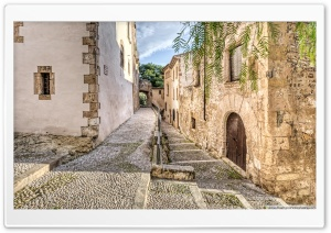 Carrer del Forn Altafulla, Catalonia Ultra HD Wallpaper for 4K UHD Widescreen desktop, tablet & smartphone
