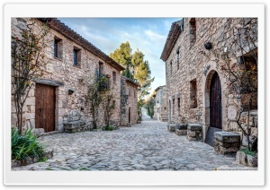 Carrer Major de Siurana...