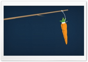 Carrot on a Stick HD Wide Wallpaper for Widescreen