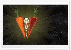 Carrots Artwork HD Wide Wallpaper for Widescreen