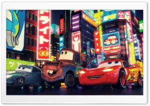 Cars 2 The Movie Ultra HD Wallpaper for 4K UHD Widescreen desktop, tablet & smartphone