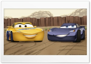 Cars 3 HD Wide Wallpaper for 4K UHD Widescreen desktop & smartphone