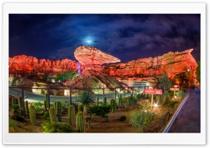 Cars Land HD Wide Wallpaper for Widescreen