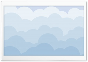 Cartoon Clouds HD Wide Wallpaper for Widescreen