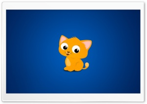 Cartoon Kitten HD Wide Wallpaper for Widescreen