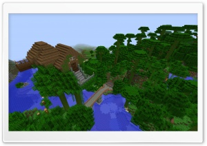 Casa de Arbol Minecraft HD Wide Wallpaper for Widescreen