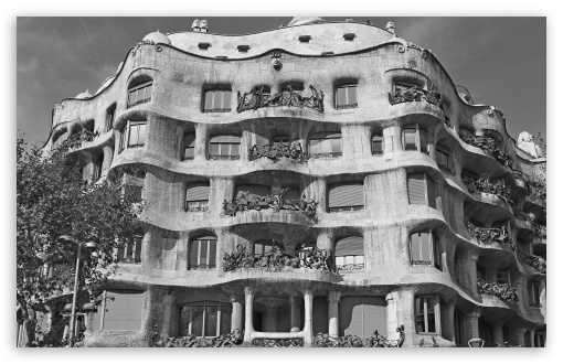 Casa Mila - Barcelona, Spain - Black And White ❤ 4K UHD Wallpaper for Wide 16:10 5:3 Widescreen WHXGA WQXGA WUXGA WXGA WGA ; 4K UHD 16:9 Ultra High Definition 2160p 1440p 1080p 900p 720p ; UHD 16:9 2160p 1440p 1080p 900p 720p ; Standard 4:3 3:2 Fullscreen UXGA XGA SVGA DVGA HVGA HQVGA ( Apple PowerBook G4 iPhone 4 3G 3GS iPod Touch ) ; Smartphone 5:3 WGA ; iPad 1/2/Mini ; Mobile 4:3 5:3 3:2 16:9 - UXGA XGA SVGA WGA DVGA HVGA HQVGA ( Apple PowerBook G4 iPhone 4 3G 3GS iPod Touch ) 2160p 1440p 1080p 900p 720p ; Dual 16:10 5:3 16:9 4:3 5:4 WHXGA WQXGA WUXGA WXGA WGA 2160p 1440p 1080p 900p 720p UXGA XGA SVGA QSXGA SXGA ;