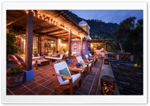 Casa Palopo, Guatemala HD Wide Wallpaper for Widescreen
