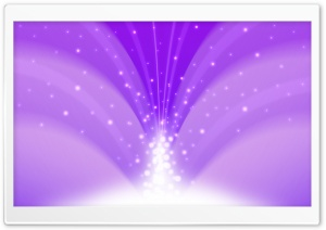 Cascade Of Magic Powder Light Purple HD Wide Wallpaper for Widescreen