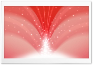 Cascade Of Magic Powder Light Red HD Wide Wallpaper for Widescreen