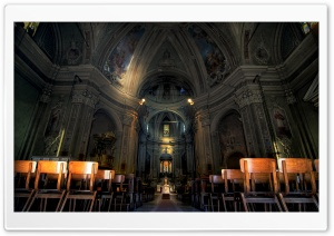 Caslino dErba Church HD Wide Wallpaper for Widescreen