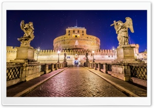 Castel SantAngelo Rome HD Wide Wallpaper for 4K UHD Widescreen desktop & smartphone