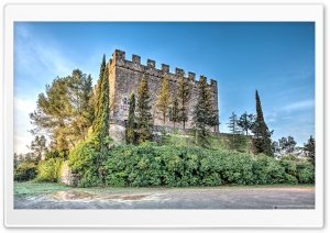 Castell de Balsareny Catalonia Ultra HD Wallpaper for 4K UHD Widescreen desktop, tablet & smartphone