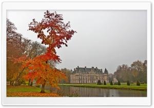 Castle Autumn Ultra HD Wallpaper for 4K UHD Widescreen desktop, tablet & smartphone
