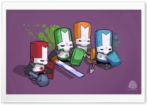 Castle Crashers HD Wide Wallpaper for Widescreen