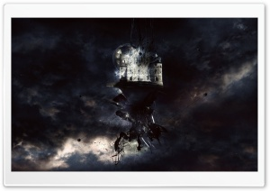 Castle In The Clouds HD Wide Wallpaper for Widescreen
