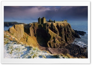 Castle on the Cliff HD Wide Wallpaper for Widescreen