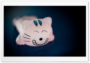 Cat Figurine HD Wide Wallpaper for Widescreen