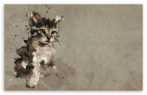 Cat Painting HD wallpaper for Wide 16:10 5:3 Widescreen WHXGA WQXGA WUXGA WXGA WGA ; HD 16:9 High Definition WQHD QWXGA 1080p 900p 720p QHD nHD ; Standard 4:3 5:4 3:2 Fullscreen UXGA XGA SVGA QSXGA SXGA DVGA HVGA HQVGA devices ( Apple PowerBook G4 iPhone 4 3G 3GS iPod Touch ) ; Tablet 1:1 ; iPad 1/2/Mini ; Mobile 4:3 5:3 3:2 16:9 5:4 - UXGA XGA SVGA WGA DVGA HVGA HQVGA devices ( Apple PowerBook G4 iPhone 4 3G 3GS iPod Touch ) WQHD QWXGA 1080p 900p 720p QHD nHD QSXGA SXGA ;