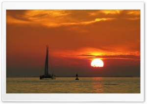 Catamaran HD Wide Wallpaper for Widescreen
