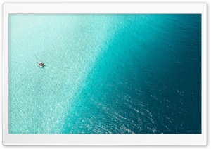 Catamaran Cruises, Blue Tropical Water, Aerial Photography HD Wide Wallpaper for 4K UHD Widescreen desktop & smartphone