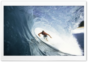 Catch A Wave HD Wide Wallpaper for Widescreen