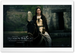 Cate Blanchett as Lady Marian, Robin Hood HD Wide Wallpaper for Widescreen