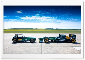 Caterham Team Lotus HD Wide Wallpaper for Widescreen